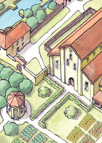 The Stična Monastery, Slovenia