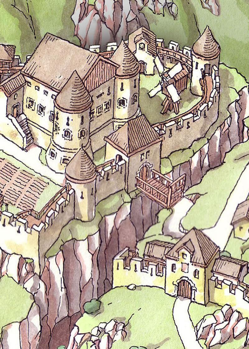 The Fortress Kluže